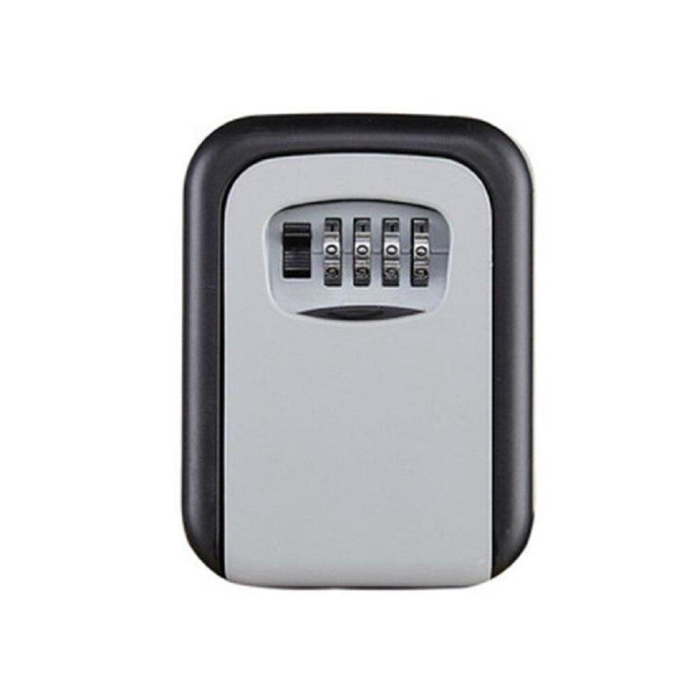 Key Lock Box Combination Lockbox With Code For House Key Storage, Combo Door Locker(China)