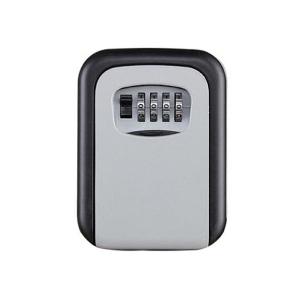 Key Lock Box Combination Lockbox With Code For House Key Storage, Combo Door Locker