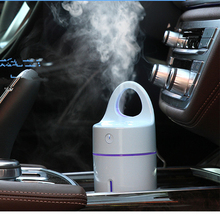 White Cup Mini Humidifier Portable 175ml Aroma Essential Oil Cool Mist Humidifiers Ultrasonic USB Powered for