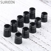 10 Uds. De casquillos de Golf de plástico con doble anillo ajuste 0.350 o 0.370 puntas hierros eje mango de Golf adaptador de funda reemplazo 16mm/19mm