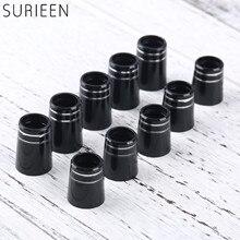 Embouts de Golf en plastique 10 pièces avec Double anneau pour 0.350 ou 0.370 embouts fers arbre de Golf manchon adaptateur de rechange 16mm/19mm