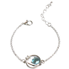 SANSUMMER Star and Moon Feautiful Exquisite Glittering Trendy Women Jewelry Sporty Casual Young Girl Simple Bracelets 5082