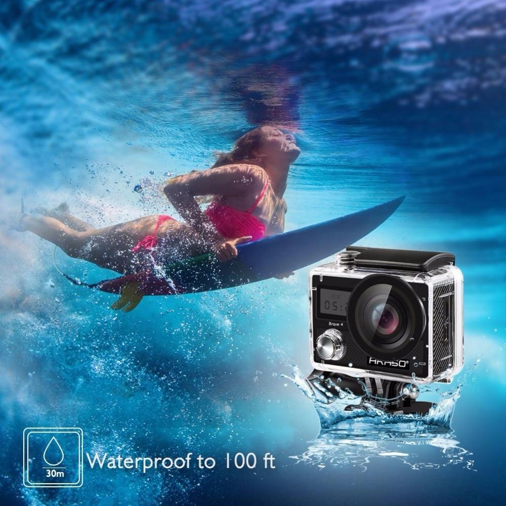 AKASO Action Extérieure Caméra Courageux 4 WIFI 4 K HD Étanche Caméscope Plongée Sous-Marine Vélo Casque Vidéo Cam pour Extrême sport - 5