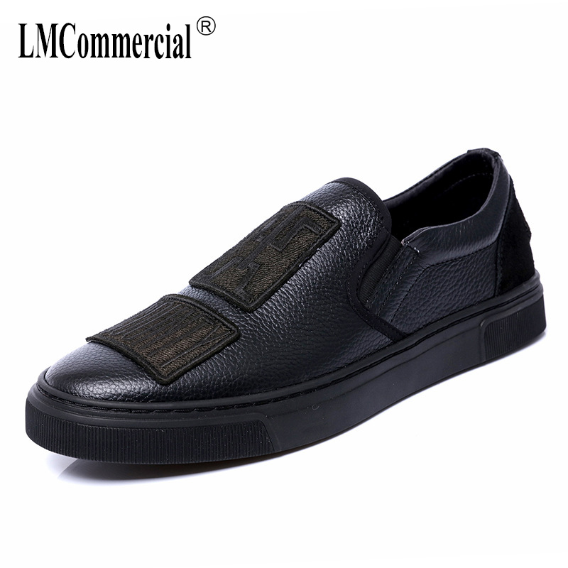 lazy male Genuine Leather casual shoes all-match cowhide breathable sneaker fashion boots men Leisure shoes spring autumn summer genuine leather men s leisure shoes spring summer all match cowhide soft bottom breathable sneaker fashion men casual shoes male