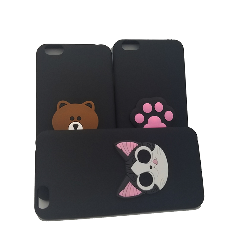 3D cat Brown bear paw phone Case For Vivo X21 X21i Y15 Y17 Y21 Y25 Y31 Y51 Y53 Y53i Y55 Y55s Y65 Y66 Y67 silicone cartoon Cover