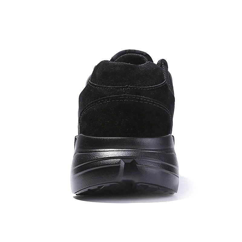 Ceyue Кроссовки Спорт Для мужчин дышащая кожа замша Фитнес Для мужчин Обувь для прогулок новый плюс Размеры 39–46 Кружево до Спортивная обувь д...