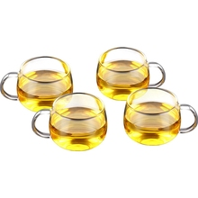free shipping Kamjove k-102 double layer cup quality tea set handmade glass tea cup цена 2017