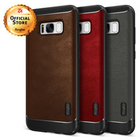 Ringke Flex Case For Samsung Galaxy S8 Flexible TPU And PU Leather Hybrid Defensive Phone Cases