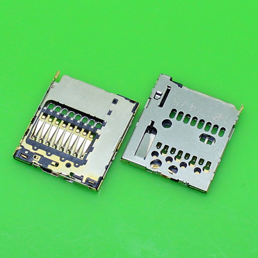 ChengHaoRan 1 Piece For Nokia 820 cell phone sim card socket slot tray replacement connector.1pcs/lot.KA-239
