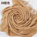 New Arrival Camel Women's Acrylic Scarf Europe America Stylish Cape Fring Long Large Pashmina Wrap 180 x 69cm