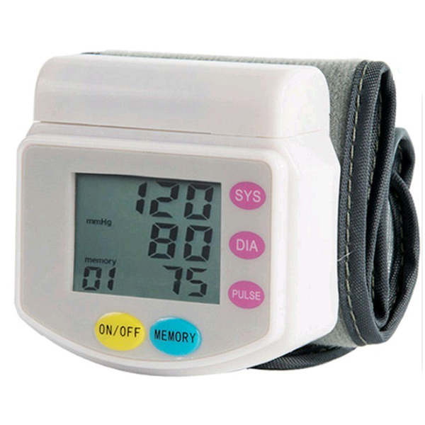 2016 New Health Care Automatic Wrist Digital Blood Pressure Monitor for Measuring And Pulse Rate health care wrist portable digital automatic blood pressure monitor