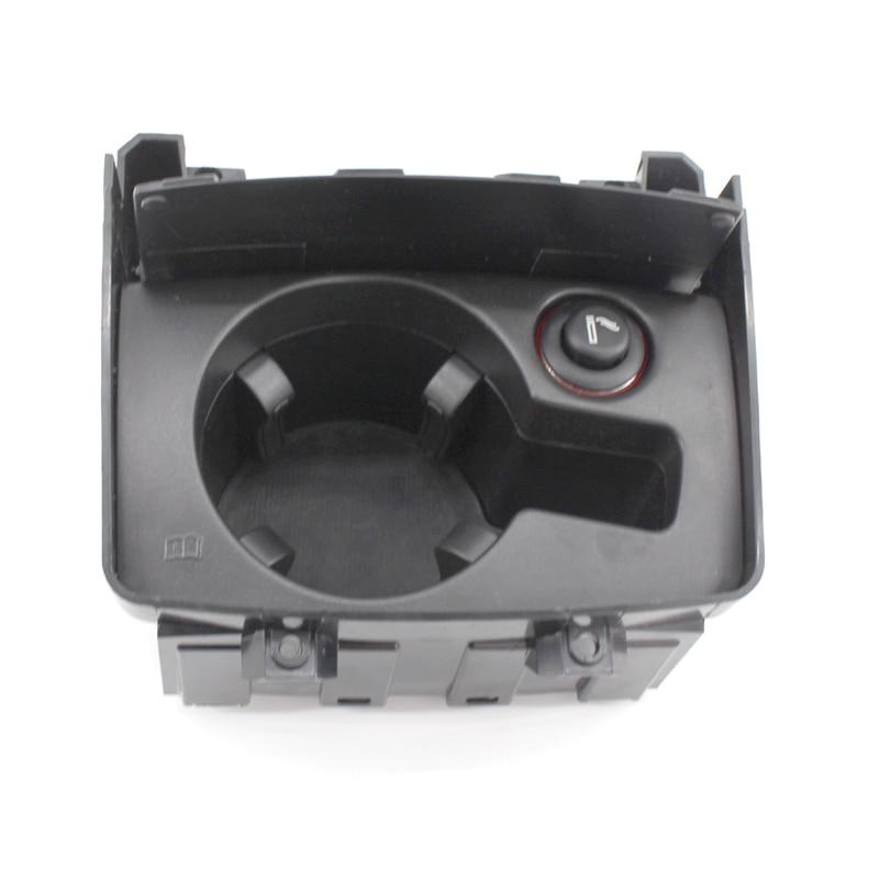 Noir Auto Voiture support de verre Boîte Pliage Porte-boissons Pour Audi A6 C6 2006-2011