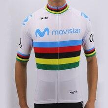 2018 Pro Team Champion Edition Gobik Movistar High-end cycling jersey  Triathlon short sleeve Clothing bad81d4ba