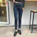 Hot Sale Skinny Jeans Women Spring New Pencil Jeans For Women Fashion Slim Blue Jeans High Waist Women Denim Pants