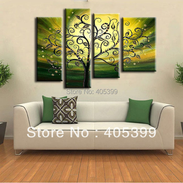 Free Shipping !! 100%  Real  Handmade Modern Abstract  Oil Painting On Canvas Wall Art ,Dafeng Oil Painting Factory Z052