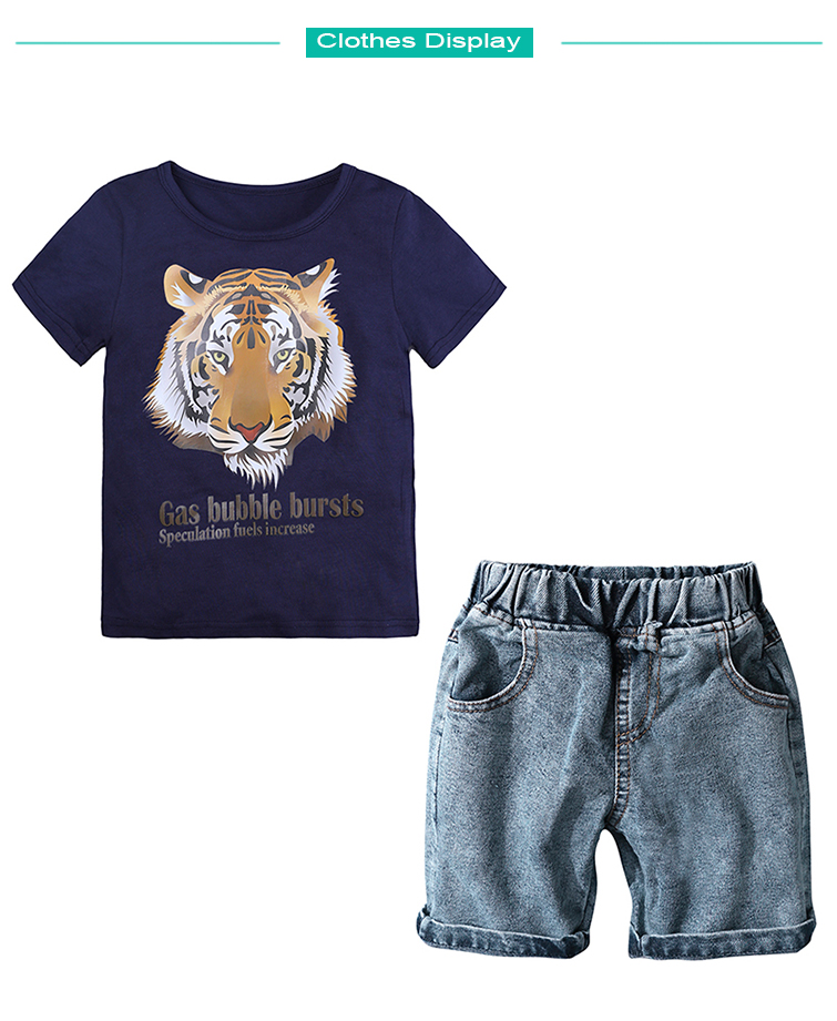 46bdd0aefcc 2019 ST369 Baby Clothing Sets Kids Clothes Summer Boys Sets Children ...
