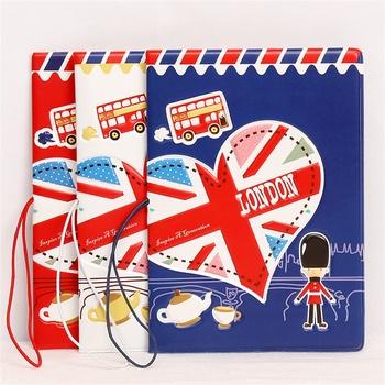 2020 nowy I LOVE LONDON style pokrowce na paszport do podróży skóra pvc saszetka na dowód osobisty etui na paszport portfele na paszport 14*9 6cm tanie i dobre opinie Mcneely I LOVE LONDON passport covers Paszport okładki Akcesoria podróżnicze 14cm 0 3cm pvc leather Animal prints