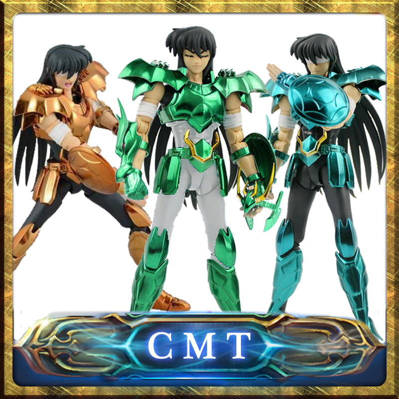 CMT In stock Dragon Shiryu V3 Version final Cloth EX metal armor GREAT TOYS GT EX Bronze Saint Seiya Myth Cloth Action Figure in stock s temple metal club ex taurus aldebaran saint seiya myth cloth gold action figure