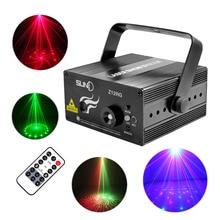 Новый мини 12 моделей RG лазерный проектор огни 3 Вт синий из светодиодов фон смешать эффект домашнего клуб ну вечеринку пейзаж показать освещение AZ12RG