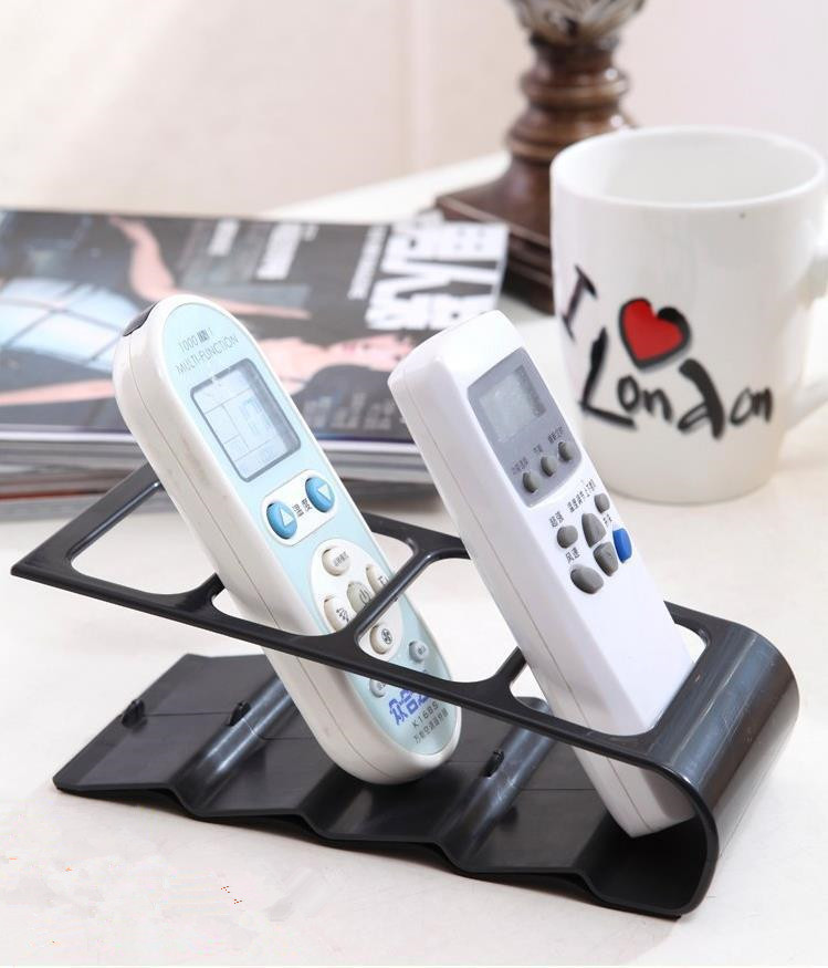 1PC 4 Frame TV/DVD Step Remote Control Storage Mobile Phone Holder Stand Organiser Home Accessories OK 0252