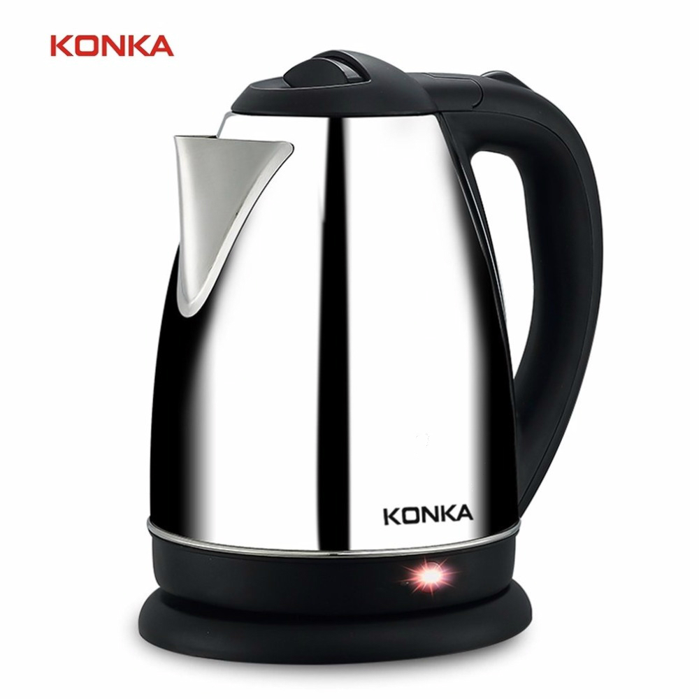 KONKA Stainless Steel Water Electric Kettle  1.8L High Quality Electric Kettle Insulation Household Appliances for the Kitchen high quality electric kettle double wall insulation quick heating digital electric thermos water boiler home appliances for tea