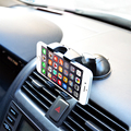 Malloom Universal Car Styling Windshield Mount Stand Mobile Phone Holder For iPhone 4 5 5s 6 6s Plus Samsung Smart Phone GPS