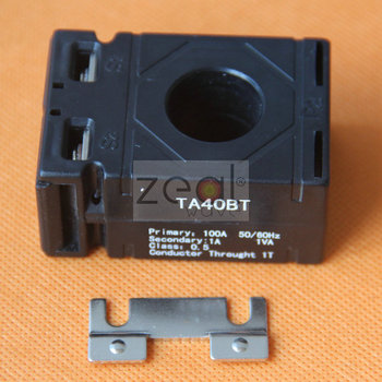 10pcs Free Shipping 50/60HZ TA40BT Current Transformer For Indusrial Equipment 1VA 100A/1A