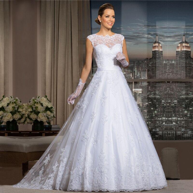 Aliexpress.com Comprar ZGS485 vestidos de novia de Encaje Elegante Vestido  de Novia Romántico vestido de Novia vestidos de noiva Vestido de Novia de  Encaje