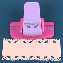 Floral Lace Edge Embossers Hole Punch Embossing Device Tool For Paper Scrapbooking Gift Card Party Wedding DIY Crafts