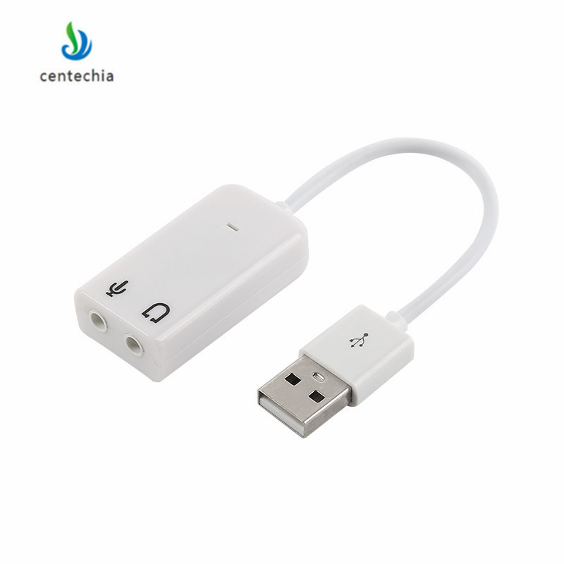 Clever Usb Audio Adapter Usb To Jack 3.5mm Earphone Micphone Usb Sound Card Virtual 7.1 3d External Notebook Pc Sound Card Computer & Office