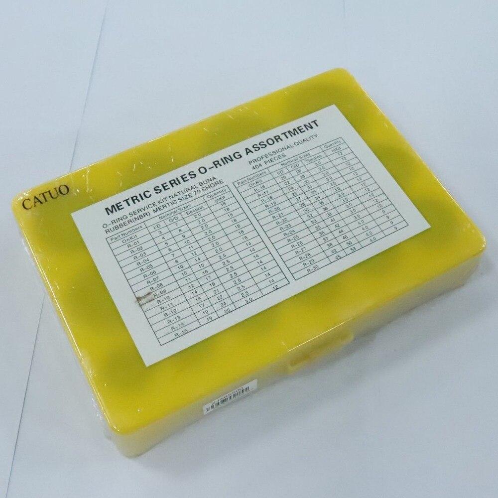 404 шт резиновое уплотнительное кольцо ассортимент уплотнений сантехника гаражный комплект с чехол для личных или профессиональных мастерских и гаражей