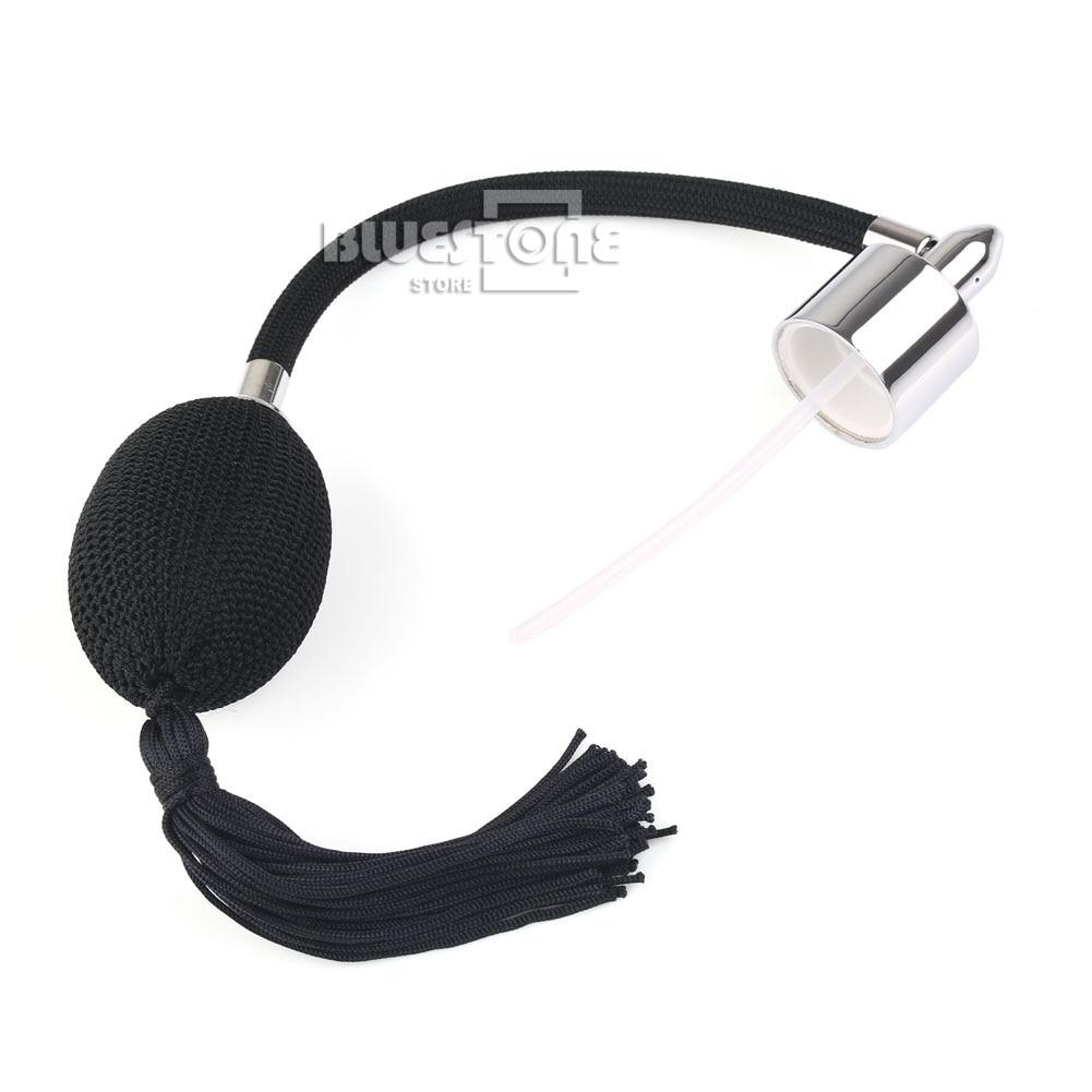 Fashion Black Long Tassel Spray Atomizer Air Nozzle For Refill Perfume Bottle