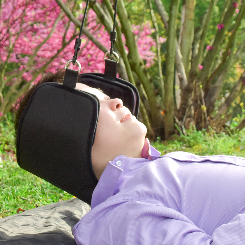 2018 Neck Relax Hammock Head Hammock For Neck Pain Traction And Shoulder Muscle Relaxer New Design Relief Head Soft Neck Hammock plia relaxer молекулярное выпрямление волос plia