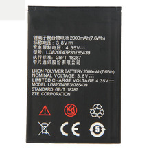 Origina High Capacity Li3820T43P3h785439 phone battery For ZTE Blade L3 2000mAh