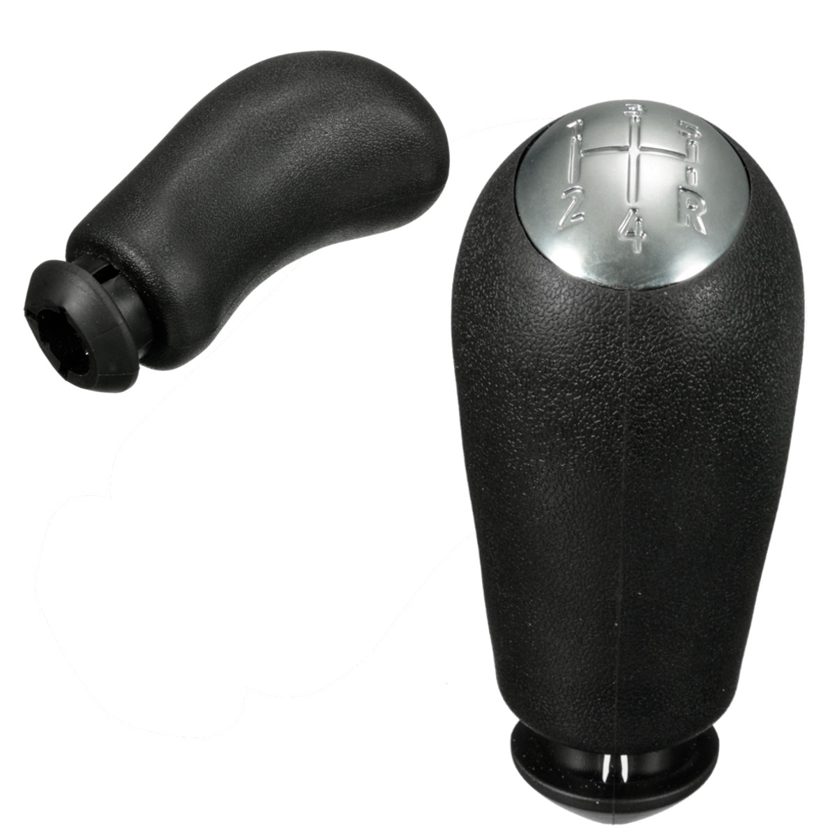 new black gear stick shift knob for renault clio mk3 3 iii. Black Bedroom Furniture Sets. Home Design Ideas