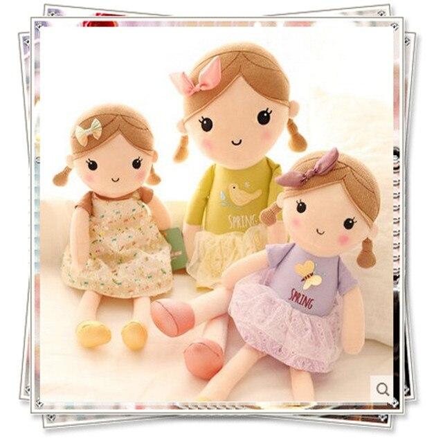 Anime Plush Toy Kawaii Baby Plush Doll Lovely Flower Girl Kid Toys