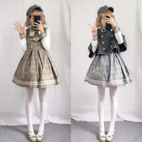 2019 Limited New And The Japanese Sweet Lolita Dress Long sleeved Female Students Daily Soft Sister Princess Skirt Suit