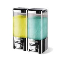 Quality assurance 500ml Shampoo bottle Shower Gel box new ABS plastic Wall mounted liquid bathroom kitchen liquid Soap dipenser