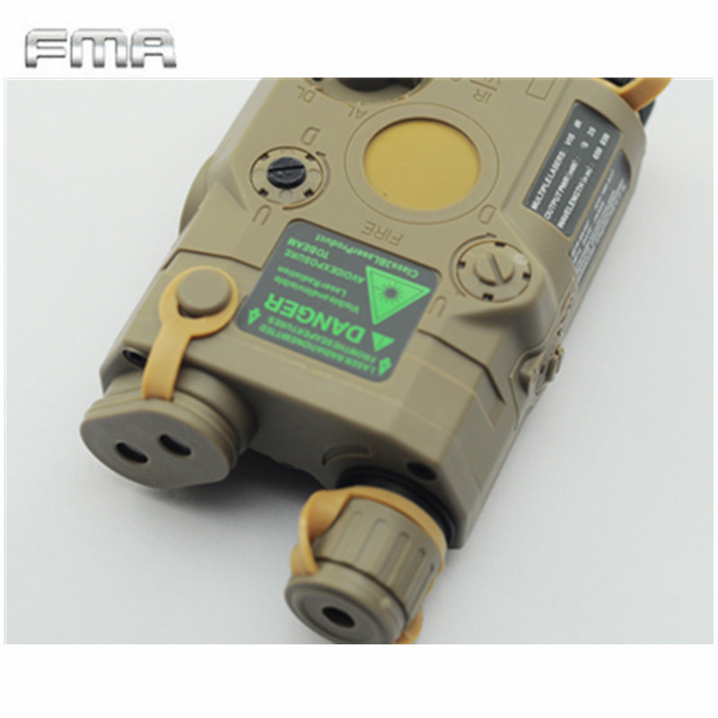 Original FMA Tactical Military Airsoft AN / PEQ-15 Batteri Box Laser - Jakt - Foto 6