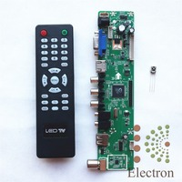 LA. MV29.P Evrensel LCD Denetleyici Kurulu Çözünürlük TV Anakart VGA/HDMI/AV/TV/USB HDMI arayüzü Sürücü Kartı