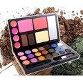 21 Color Eyeshadow  Makeup Box Stereo Phantom Cosmetic Case Lip Gloss Eye Shadow Powder Luminous Natural Glitter 2 Types