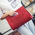 2017 Ladies Bag New Fashion Handbag Messenger Bag Handbags Summer Shoulder Korean Simple Retro Bag Woman Hollow Totes