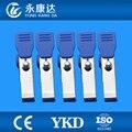 Animais de metal clipe adaptador set para cabos de ECG, veterinários, 5 pçs/set