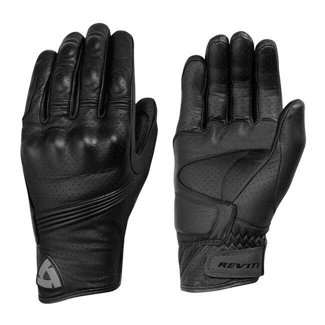 Nuevo Países Bajos REVIT del modelo de Guante de cuero genuino negro Moto guantes de Moto GP carretera guantes de carreras de los hombres
