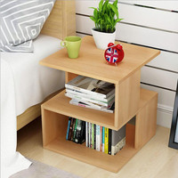 Modern Geometric Design Coffee Table Side Table With Storage Space Tea Tables Furniture For Living room Bedroom criado mudo