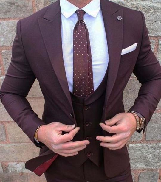 2018 Latest Coat Pant Designs Men Suit Classic Pattern Skinny Prom