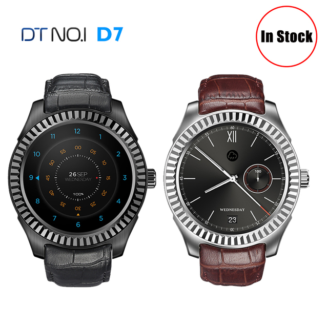 2017 New NO.1 D7 Smart Watch Android 4.4 500mAh SIM GPS WIFI 3G Smartwatches Bluetooth 4.0 Pulse Monitor Wearable Clock Bracelet