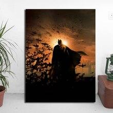 цены на Dark Knight Batman's Marvel Super Heroes Canvas Painting Oil Print Poster Wall Art Picture for Living Room Home Decoration  в интернет-магазинах