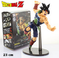 "Free Shipping 9"" Dragon Ball Z Master Stars Piece MSP No.19 Super Saiyan Son Goku Gokou 23cm Boxed PVC Action Figure Model Doll"