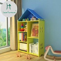 Louis moda estante criativa e favorável ao meio ambiente estante moderno simples móveis rack de imagem das crianças prateleira estudante